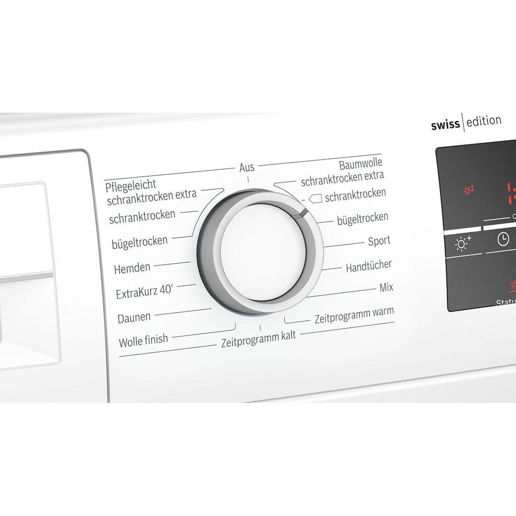 BOSCH Wärmepumpentrockner »WTR87T50CH A+++«