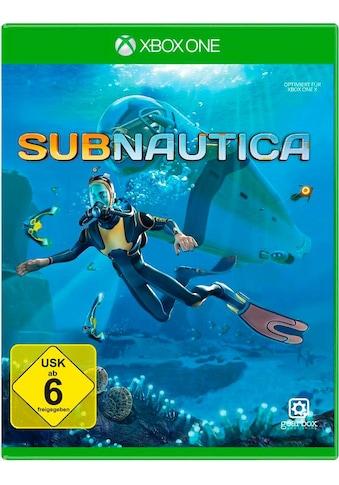 U&I Entertainment Spiel »Subnautica«, Xbox One kaufen