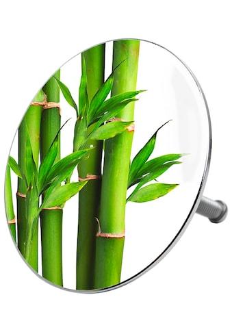 Sanilo Badewannenstöpsel »Bambus Grün«, Ø 7,2 cm kaufen