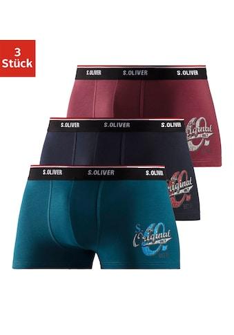 s.Oliver Bodywear Boxer (3 Stück) acheter