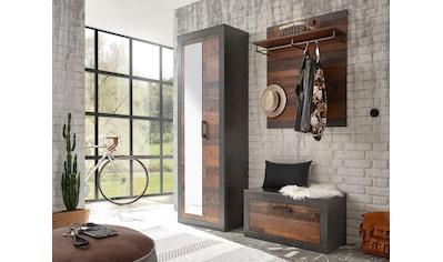 Home affaire Garderoben-Set »BROOKLYN«, (Komplett-Set, 3 St., bestehend aus... kaufen