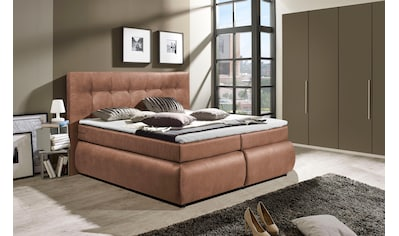 Places of Style Boxspringbett »Hartford«, mit seitlichem Bettkasten kaufen