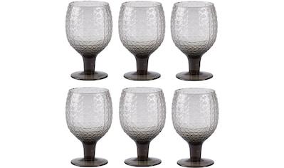 Rotweinglas »Villa Collection Rotweinglas Groove«, (6 tlg.), 6 teilig kaufen