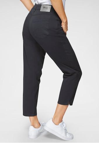 MAC 7/8-Jeans »Melanie 7/8«, Stickerei und Nietenbesatz an den Gesässtaschen kaufen