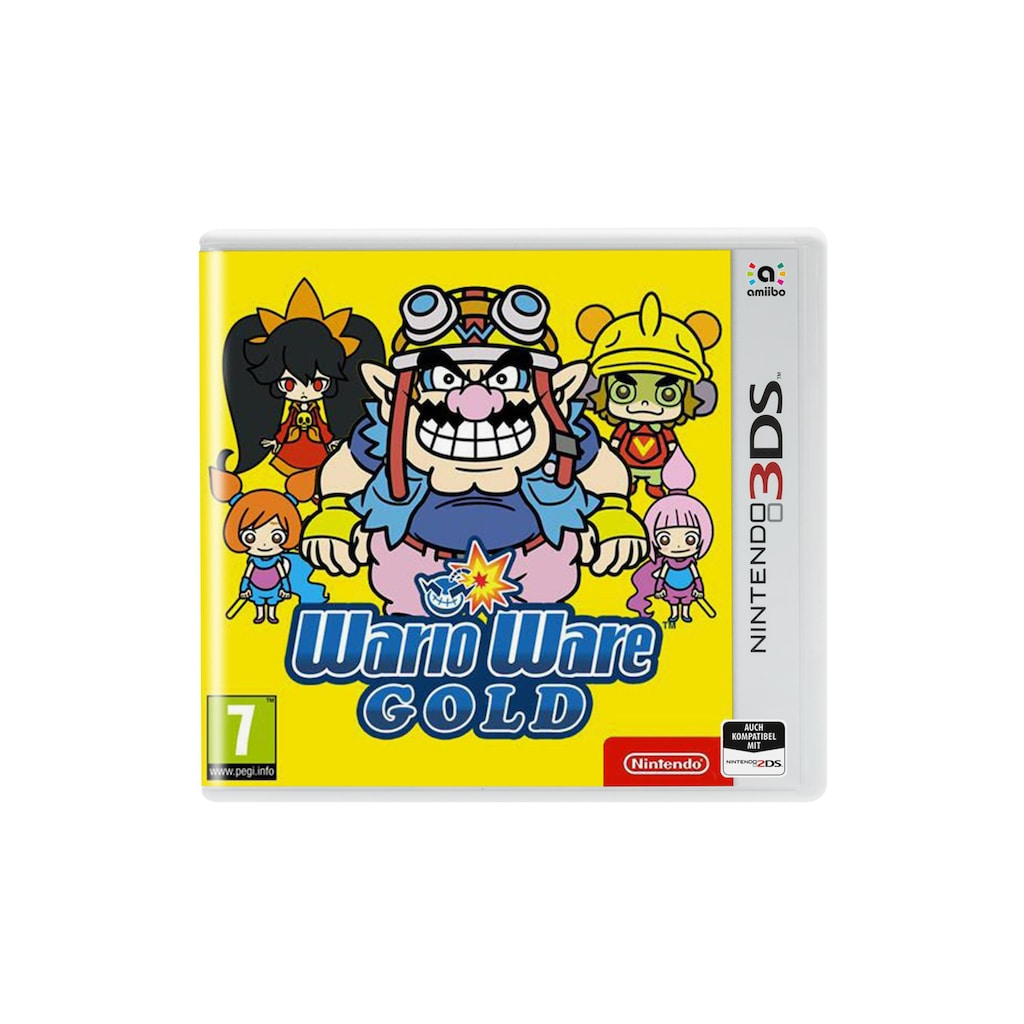 Nintendo Spiel »Wario Ware Gold«, New Nintendo 3DS, Standard Edition