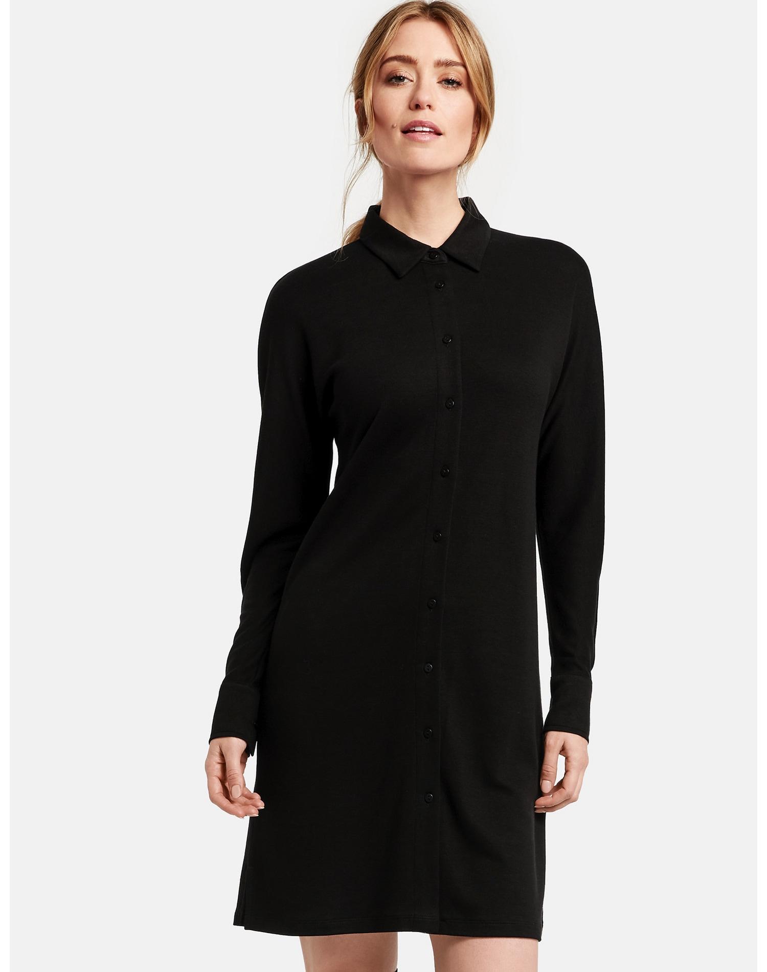 Image of GERRY WEBER Kleid Gewirke »Ausgestelltes Blusenkleid«