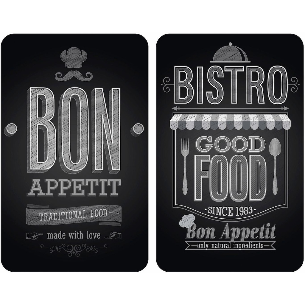 WENKO Herd-Abdeckplatte »Bon Appetit«, rutschfesten Spezialfüsse