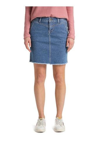 MUSTANG Jeansrock »Laura Skirt«, Minirock kaufen