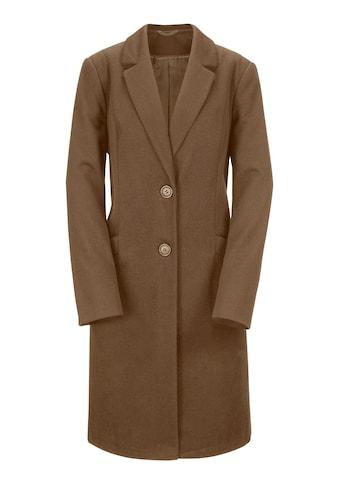 Classic Inspirationen Woll - Mantel mit Schulterpolstern kaufen