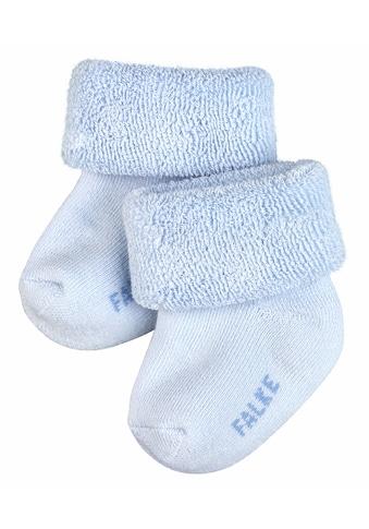 FALKE Socken »Erstling«, (1 Paar), aus kuschelweicher Baumwolle kaufen