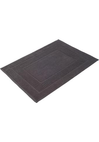 Gözze Badematte »Bio Uni«, Höhe 7 mm, fussbodenheizungsgeeignet-beidseitig nutzbar, Bio-Baumwolle kaufen