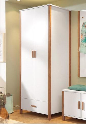 Home affaire Garderobenschrank »Chic«, mit einer Kleiderstange, vielen Stauraummöglichkeiten, Höhe 180 cm kaufen