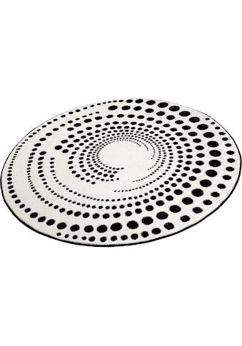 Teppich, »Eddy«, Esprit, rund, Höhe 13 mm, maschinell gewebt kaufen
