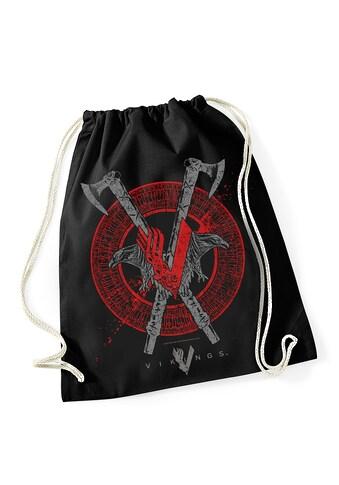 Nastrovje Potsdam Turnbeutel »Vikings Axe&Raven Gym Bag« kaufen