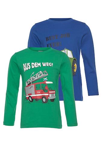 KIDSWORLD Langarmshirt (Packung, 2 tlg.) kaufen
