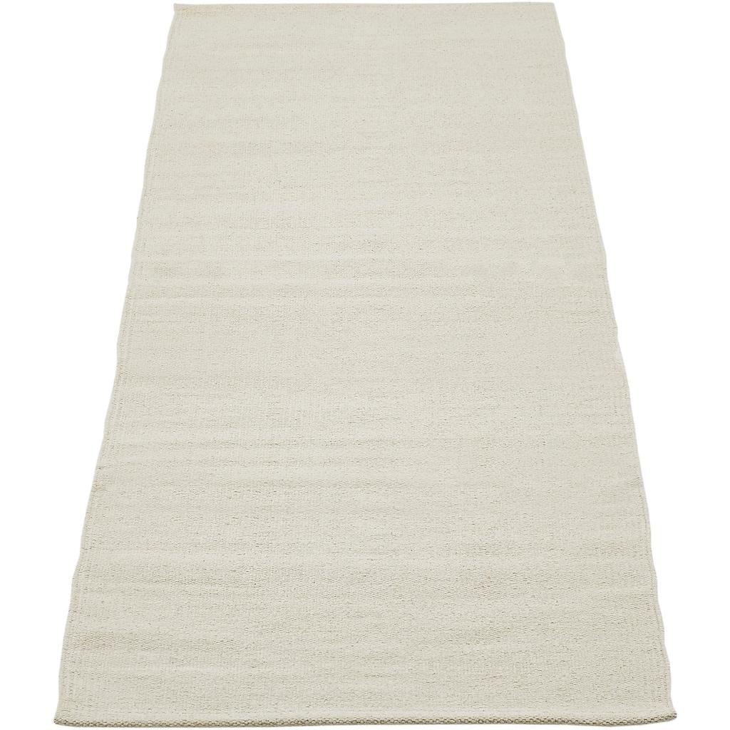 Andiamo Teppich »Milo«, rechteckig, 5 mm Höhe, Flachgewebe, reine Baumwolle, handgewebt, waschbar, Wohnzimmer