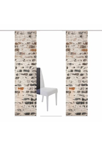 HOME WOHNIDEEN Schiebegardine »MURO«, HxB: 245x60, inkl. Befestigungszubehör kaufen