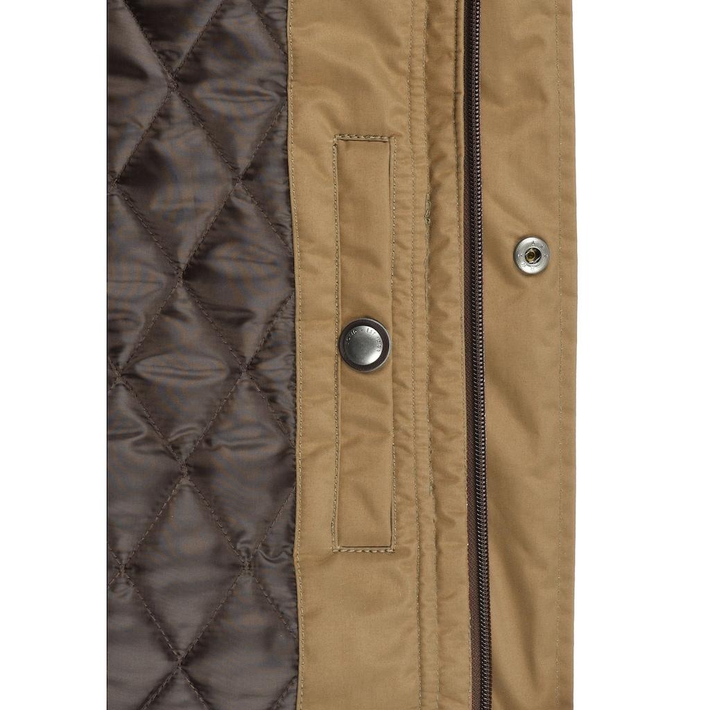 Solid Winterjacke »Dempsey«, warme Jacke mit abnehmbarer Kapuze