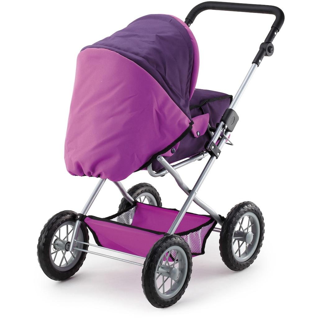 Bayer Kombi-Puppenwagen »Grande, Lila«