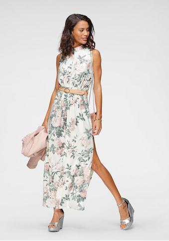 Melrose Maxikleid, mit elegantem Blumen-Print - NEUE KOLLEKTION kaufen