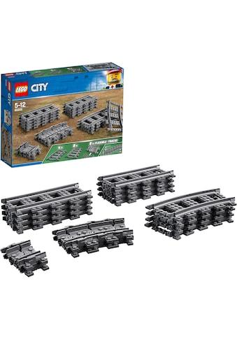 """LEGO® Konstruktionsspielsteine """"Schienen (60205), LEGO® City"""", (20 - tlg.) kaufen"""
