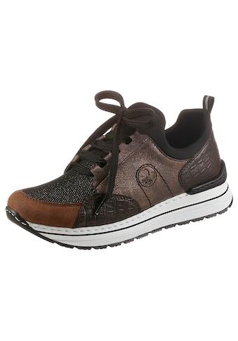 Rieker Slip-On Sneaker, mit Glitzer kaufen
