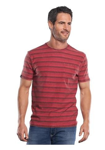 Engbers Im Stück gefärbtes Rundhals T - Shirt mit Brusttasche kaufen