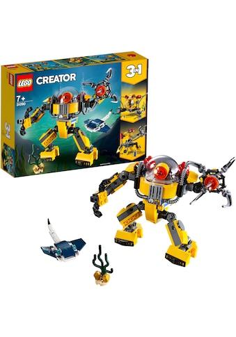 """LEGO® Konstruktionsspielsteine """"Unterwasser - Roboter (31090), LEGO® Creator"""", Kunststoff, (207 - tlg.) kaufen"""