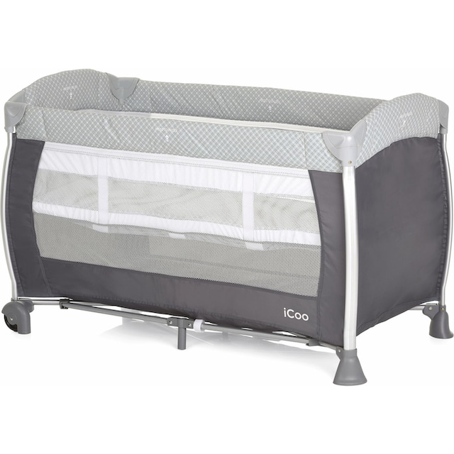 iCoo Baby-Reisebett, »Starlight Diamond Grey«