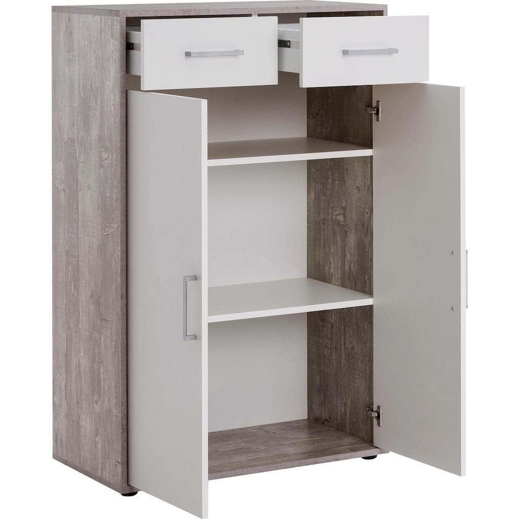 Wilmes Aktenschrank »MULTI«, 2 Türen; 2 Schubladen; breit