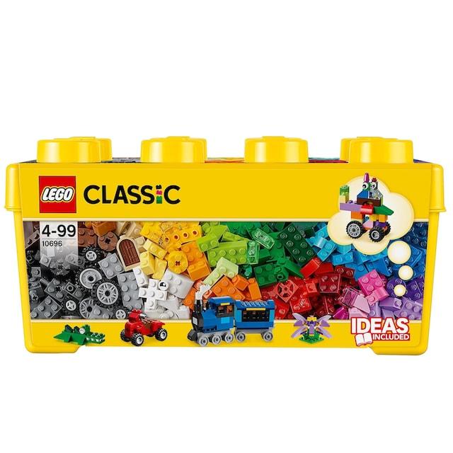 """LEGO® Konstruktionsspielsteine """"Bausteine Box (10696) , LEGO®Classic"""", Kunststoff, (484-tlg.)"""