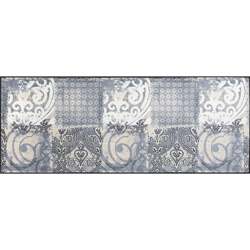 wash+dry by Kleen-Tex Läufer »Arabesque«, rechteckig, 7 mm Höhe, In- und Outdoor geeignet, waschbar