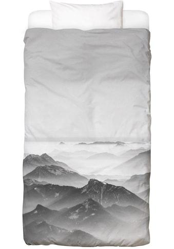 Bettwäsche »Balloon Ride over the Alps 2«, Juniqe kaufen