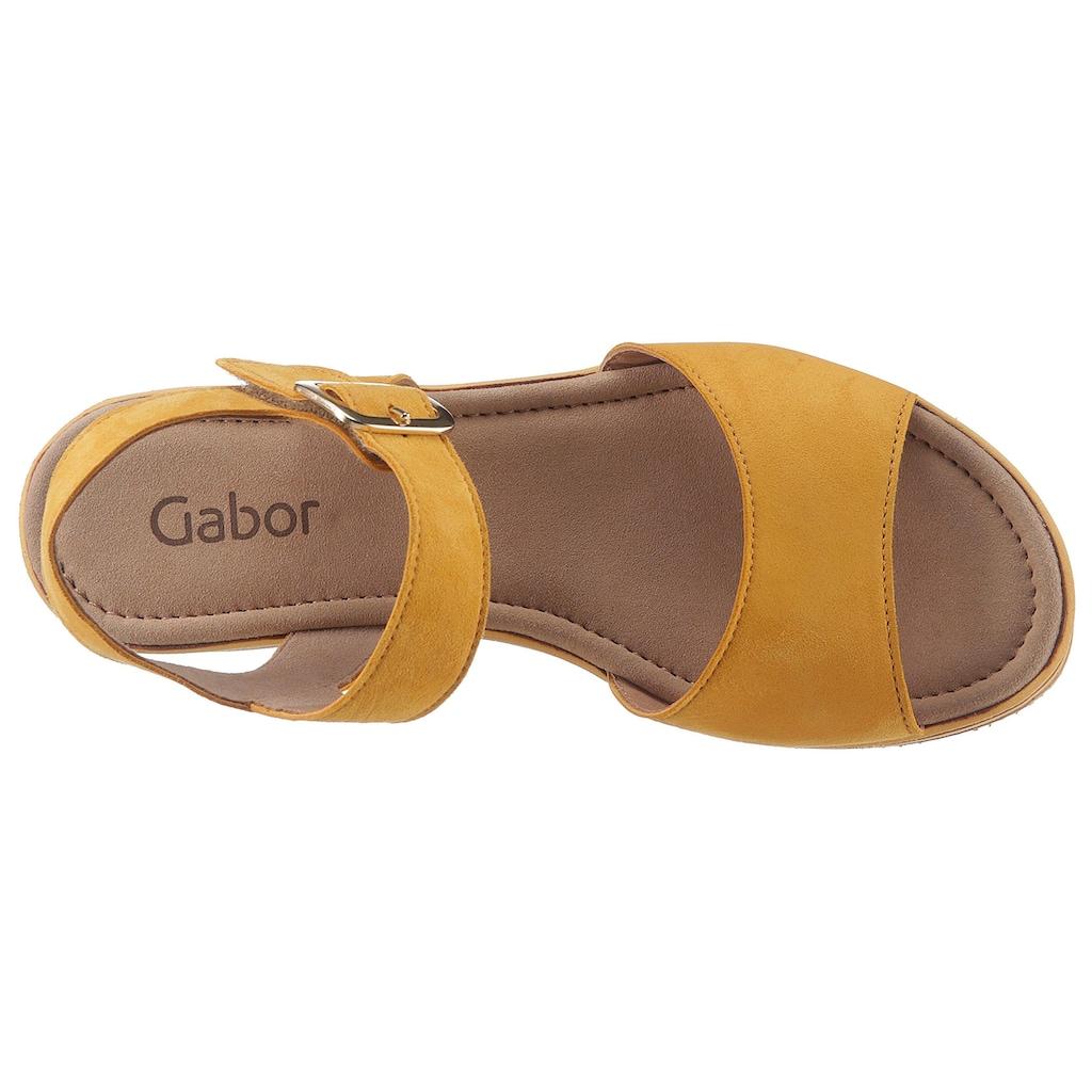 Gabor Sandalette, mit praktischem Kletverschluss