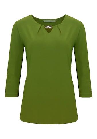 bianca 3/4-Arm-Shirt »LONI«, aus Techno-Jersey mit V-Ausschnitt kaufen