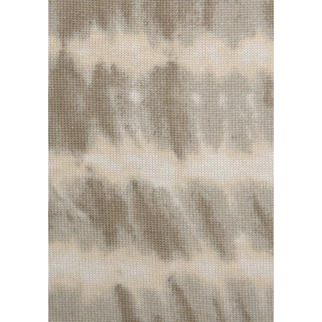 LASCANA Schösschenshirt, mit Alloverdruck