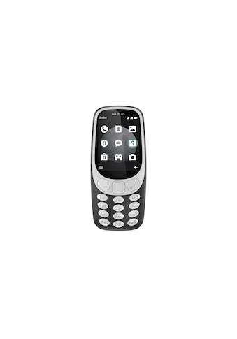 Smartphone, Nokia, »3310 3G Dual SIM Charcoal« kaufen