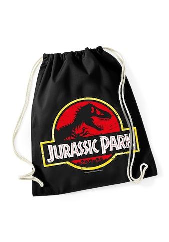 Nastrovje Potsdam Turnbeutel »Jurassic Park Logo Gym Bag« kaufen