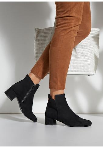 LASCANA Stiefelette, im klassischen Design mit bequemen Blockabsatz kaufen
