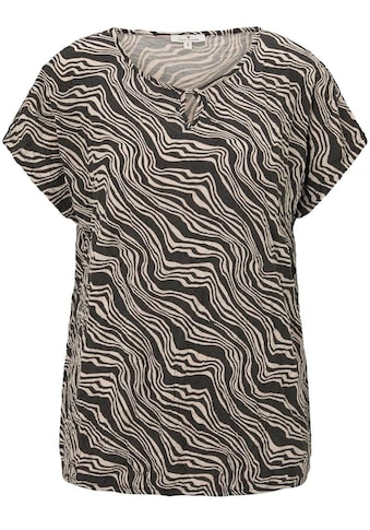 TOM TAILOR Blusenshirt, im Animal-Print kaufen