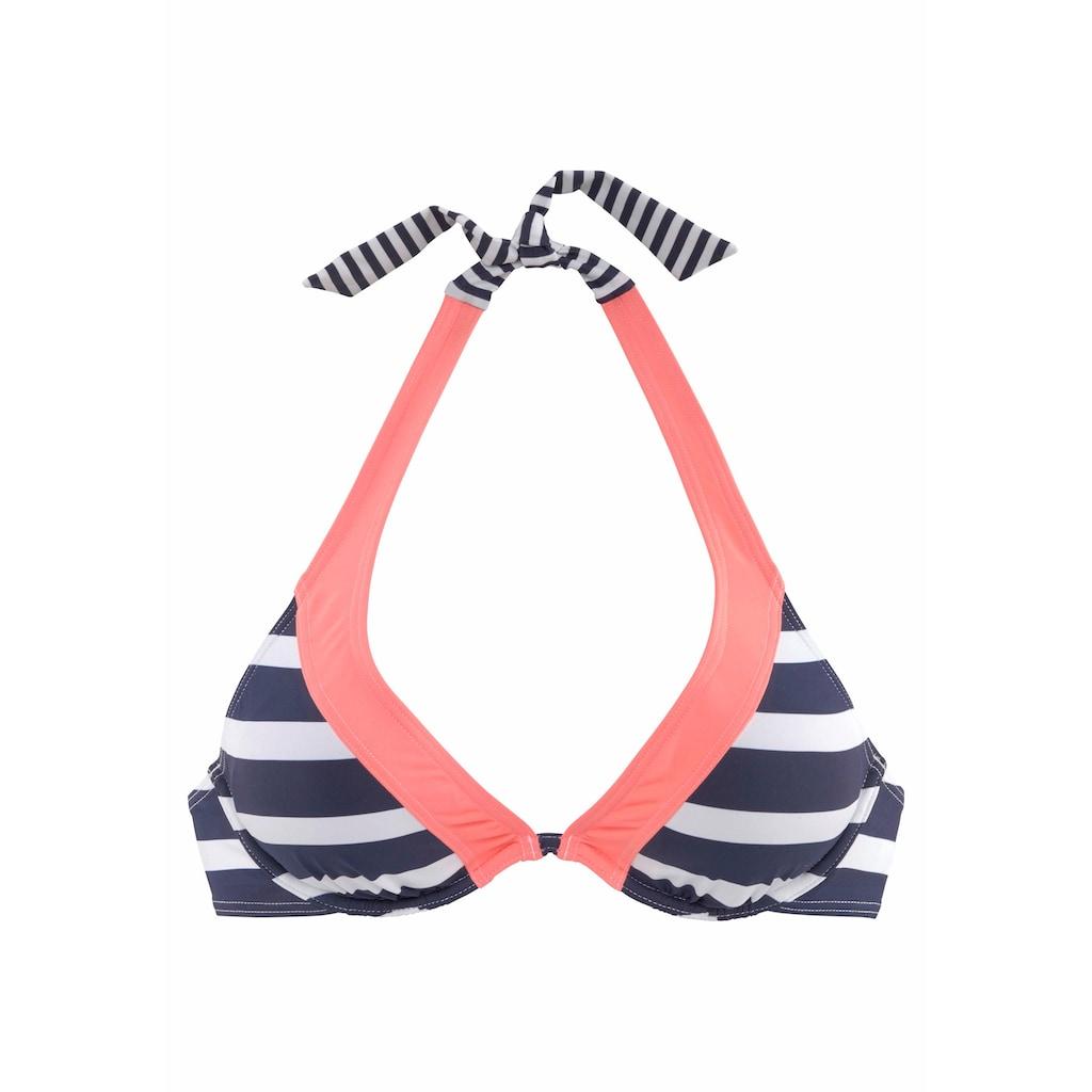 KangaROOS Bügel-Bikini-Top »Anita«, im angesagten Blockstreifendesign