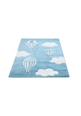 Carpet City Kinderteppich »Bueno Kids 1456«, rechteckig, 13 mm Höhe, Heissluftballon,... kaufen