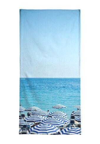 "Handtuch ""Hues Of Blue"", Juniqe kaufen"