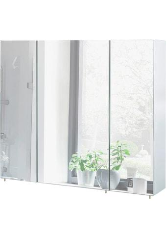 Schildmeyer Spiegelschrank »Basic«, Breite 90 cm, 3-türig, Glaseinlegeböden, Made in Germany kaufen
