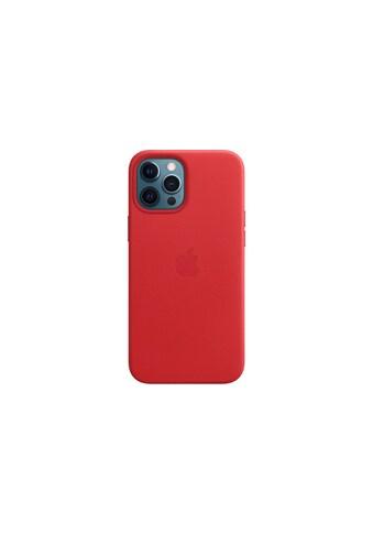 Apple Smartphone-Hülle »Apple iPhone 12 P Max Leder Case Mag RED«, MHKJ3ZM/A kaufen