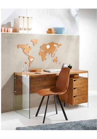 Schneider Pinnwand, Memoboard, aus Kork, Motiv Weltkarte kaufen