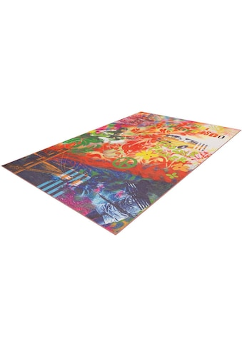 Arte Espina Teppich »Flash 2702«, rechteckig, 9 mm Höhe, feiner Chenille Teppich,... kaufen