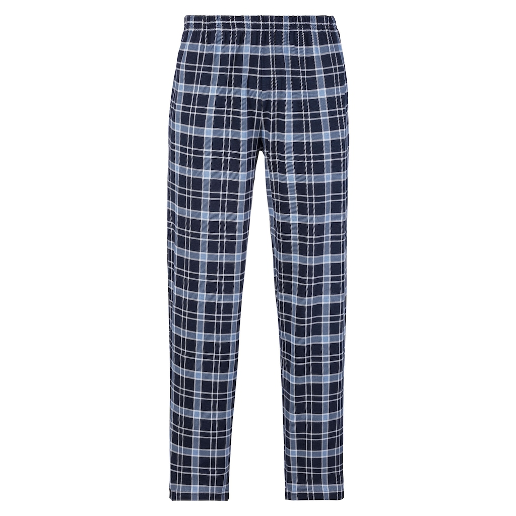 s.Oliver Bodywear Pyjama, mit Karo-Hose