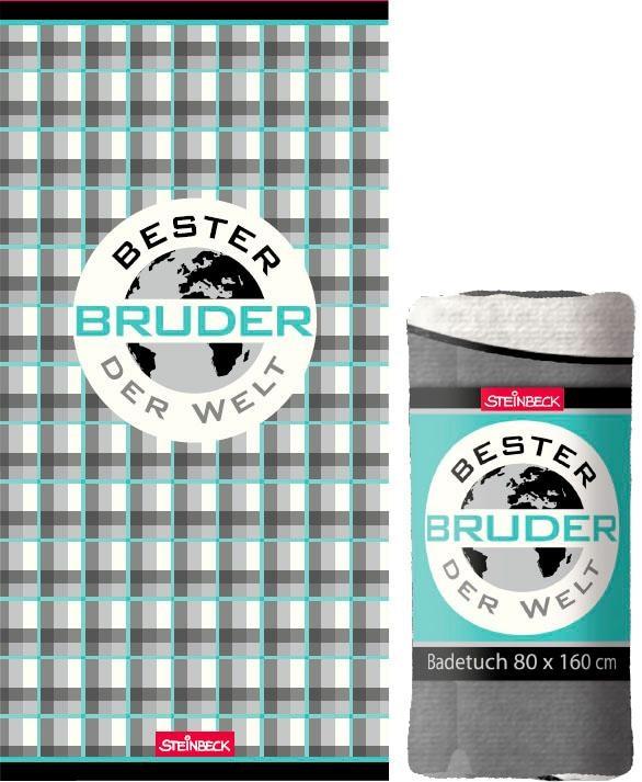 """Image of Badetuch """"Bester Bruder"""""""