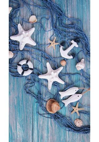 good morning Strandtuch »Kevin«, (1 St.), mit maritimen Motiven kaufen